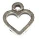 Fornitura pequeños colgantes corazon 15x20mm