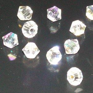 Tupi 4mm Preciosa crystal ab. Bolsa 25 und