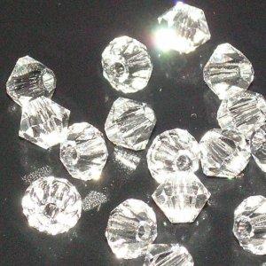 Tupi 4mm Preciosa crystal. Bolsa 25 und